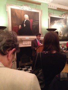History Today Editor Paul Lay, at the awards at the Foundling Museum in London